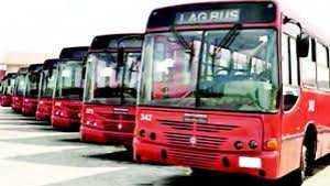 LAGBUS operators, staff protest ban from Ikorodu road, passengers stranded